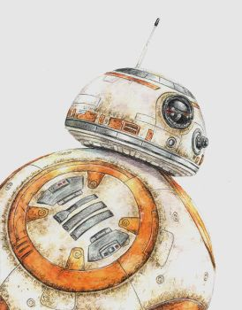 BB-8 by ThePotatoStabber
