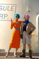 DBGT Cosplay - Mom and Son by TechnoRanma