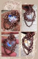 Heart of a Fairy Pendant by tanyquil