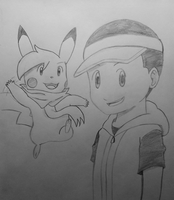 Pokemon - Curtis and Thunder say Farewell by PKMNTrainerSpriterC