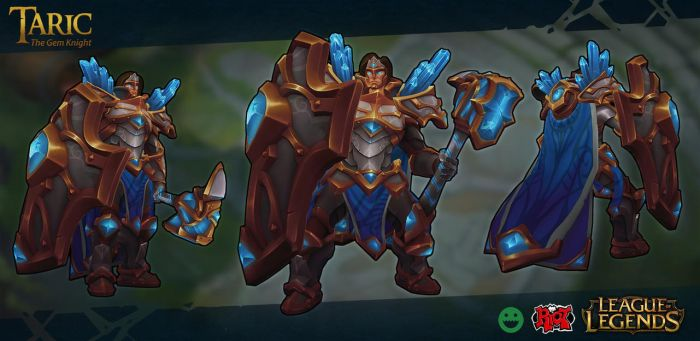 Taric Visual Update by Fch3ck