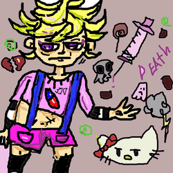 Yami Kawaii Papa Boy by PaintedMaryJanes