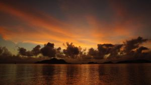 Sunrise in Seychelles by Navvyblue