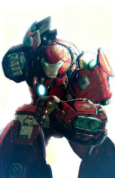 HulkBuster by LivioRamondelli