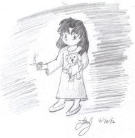 Candle Girl by HuntressGuya