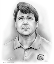 Will Muschamp by gregchapin