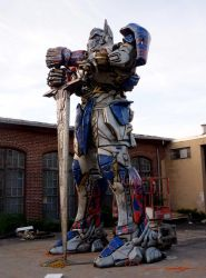Transformer Project - side view by TheJugglingOctopus