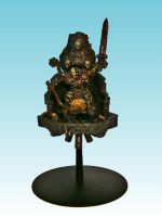 Chaos Champion on Flying Throne by Nergling