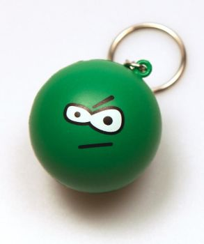 :evileye: Stress Ball Keychain by deviantWEAR