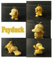 Weekly Sculpture: Psyduck