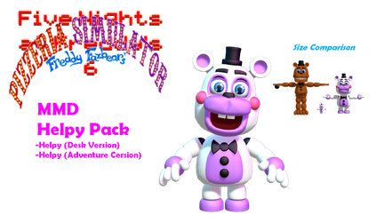 MMD- Helpy Pack (DL!) by OscartheChinchilla