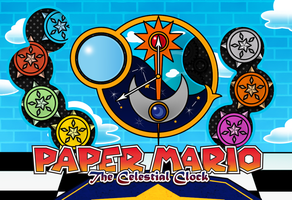 PAPER MARIO THE CELESTIAL CLOCK by Noctalaty
