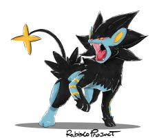 Pokemon Party Luxray Roar. by Willian92