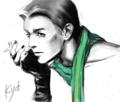 Bowie by kydest