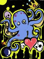 Tentacles , Skulls and Hearts , Oh my! by DustinEvans