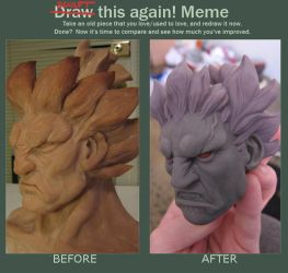 Akuma Sculpt This Again by rgm501
