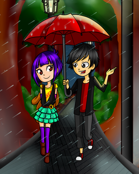 Soramy-Under The Rain by BMJ-1513