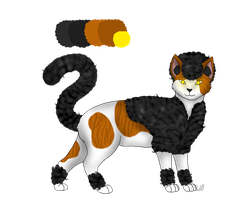 Afro Cat Custom For: FINAL-TRANSMISSION by ChocolateQuill