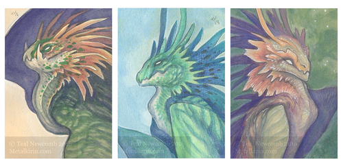 Smaugust 2018 Days 20 21 and 22 by thedancingemu