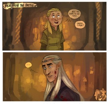 LOTR - Where is mom? by the-evil-legacy