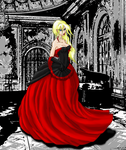 areen in ball dress edit by elven-soul