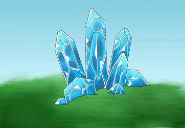 Crystals by Pinkwolfly