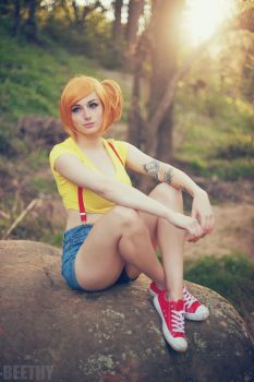 Misty - Pokemon -01- by beethy