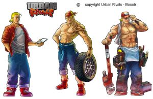 Tunned-Urban Rivals by Tregis