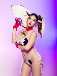 Mai Shiranui SNK Heroines Cosplay Rinnie Riot by RinnieRiot