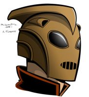 Rocketeer Bust by AgentBiLL