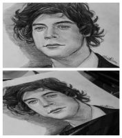 Harry Styles drawing by Bluecknight