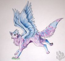 Winged Kitty by InuMimi