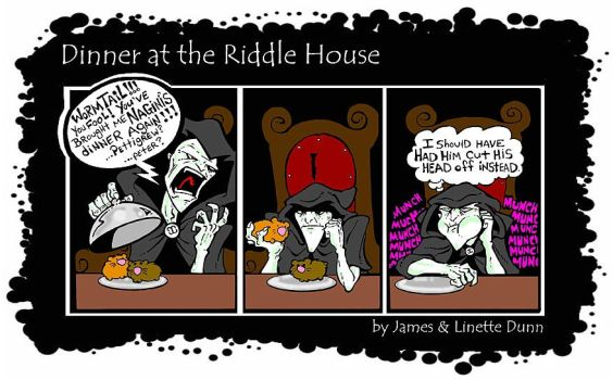 Dinner with Voldemort by JamusDu