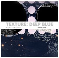 Texture: Deep Blue by vanityandwax