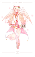 Rose Angel Collab Adopt [AUCTION] [CLOSED] by douNAI
