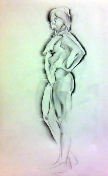 life drawing by MJHinrichs