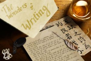The Wonders of Writing by MaidenStar