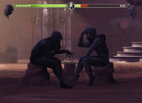 Noob Chess Kombat by nandomendonssa