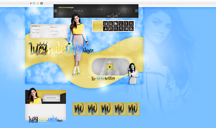 Layout ft. Lucy Hale by PixxLussy