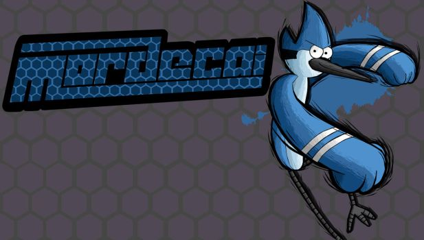 Fighting is Magic- Mordecai by TheAljavis