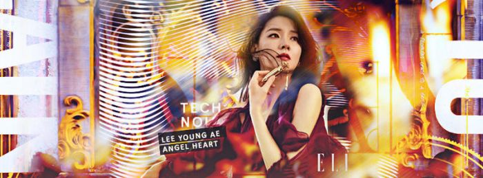 Request - Lee Young Ae Angel heart by SemmiYIn
