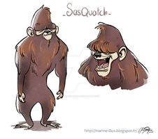 Sasquatch by MarineElphie