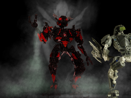 Makuta Teridax. The Master of Shadows by Eghty