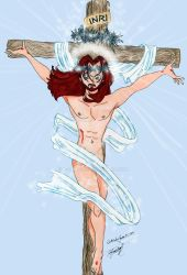 JESUS Resurection anime style by E-Ocasio