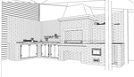 Barbecue N1 SketchUp by i-t-h-i-l