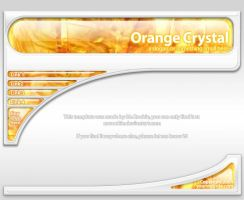 Orange Crystal :: The Template by MrRookie