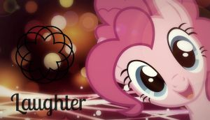 Pinkie Pie! [Laughter] *Wallpaper* by RubytheCat12