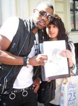 Meeting Jason Derulo by babygirlsart