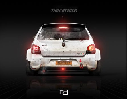 Fiat Palio Time Attack - Wallpaper by Rob3rT----Design