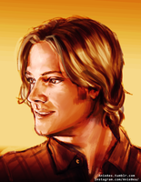Sam Winchester by AnieBeax3